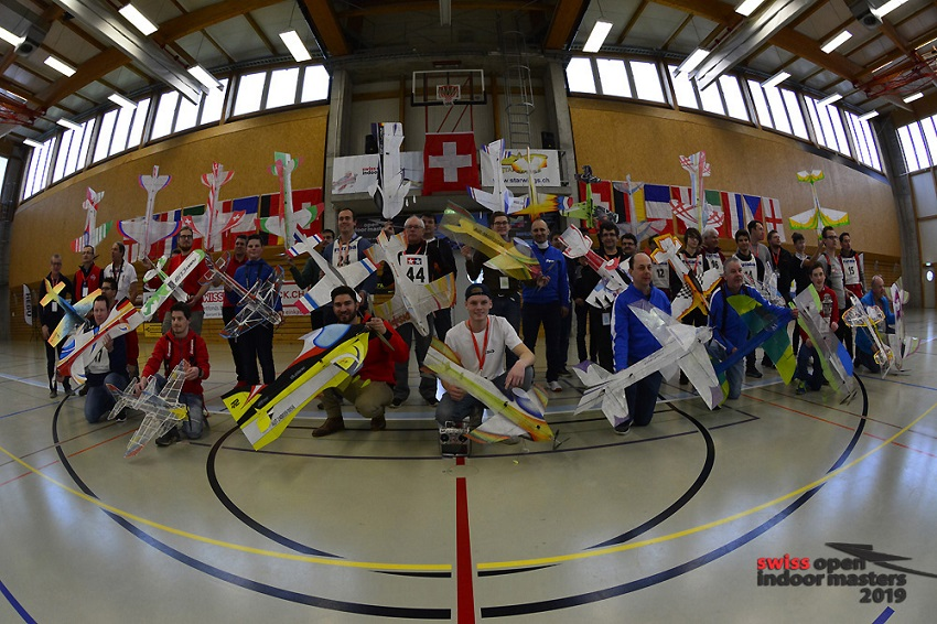 Swiss Open Indoor Masters 2019, FAI World Cup F3P