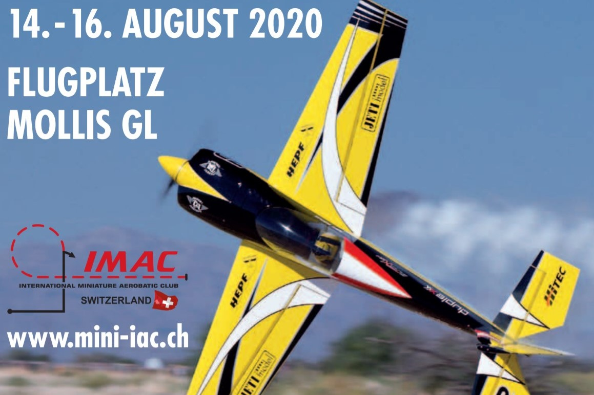 Postponed to 2021: International Steinlin IMAC Trophy